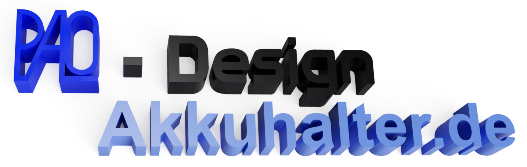 Akkuhalter und Adapter-Logo